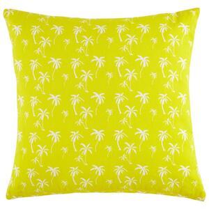 Zierkissen Lady Palms in Gelb ca. 45x45cm