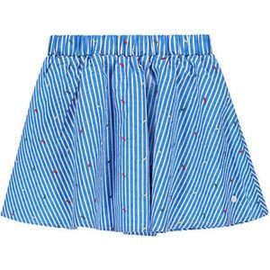 Marc O'Polo Rock, elastischer Bund, Allover-Streifen-Muster, für Mädchen