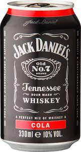JACK DANIEL'S  Tennessee-Whiskey mit Cola oder mit Lynchburg Lemonade