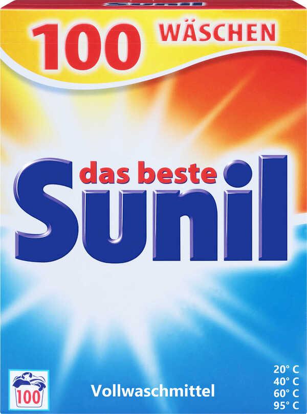 SUNIL  Voll- oder Colorwaschmittel