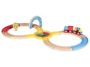 PLAYTIVE® JUNIOR Holz-Eisenbahn
