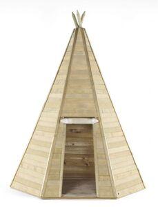 Plum - Großes Holz Tipi Zelt - ca. 220 x 220 x 330 cm