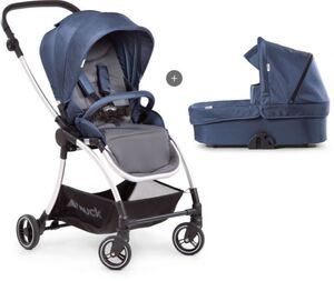 Hauck - Kinderwagen Eagle - 4S Duoset denim/grau