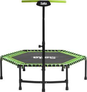 Salta - Fitness Trampolin mit Griff - in grün
