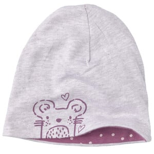 Baby Mütze zum Wenden