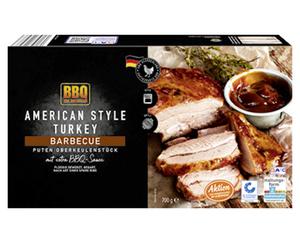 BBQ American Style Turkey
