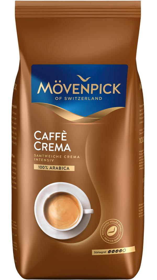 Mövenpick Café Crema ganze Bohnen 1 kg