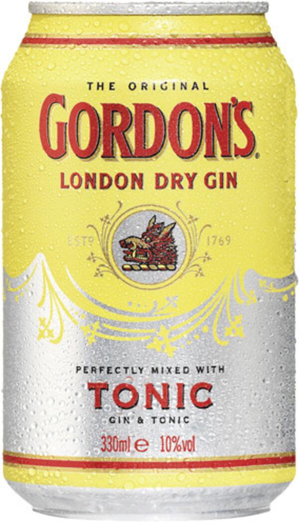 Gordons Gin Tonic 0,33 ltr