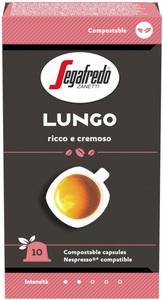 Segafredo Lungo Kaffeekapseln 10x 5,1 g