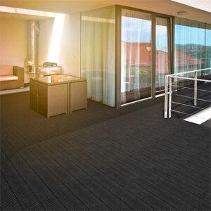 WPC Terrassendielen anthrazit 6 m²1
