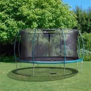 Wellactive Großes Gartentrampolin 430cm