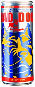 "Energy Drink ""Bad Dog"""