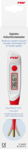 Reer Fieberthermometer digital mit flexibler und vergoldeter Messspitze