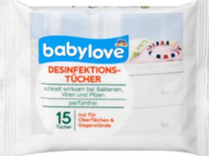 babylove babylove Desinfektionstücher