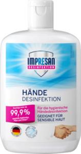 Impresan Händedesinfektion