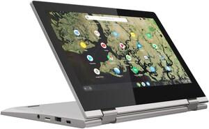 """ChromeBook C340-11 (81TA000HGE) 29,5cm (11,6"""") 2 in 1 Convertible-Notebook platinum grey"""