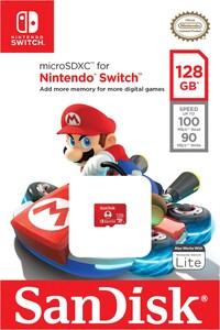 microSDXC Extreme U3 UHS-I (128GB) Speicherkarte für Nintendo Switch