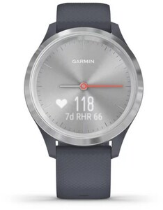 vivomove 3S Activity Tracker granitblau/silber