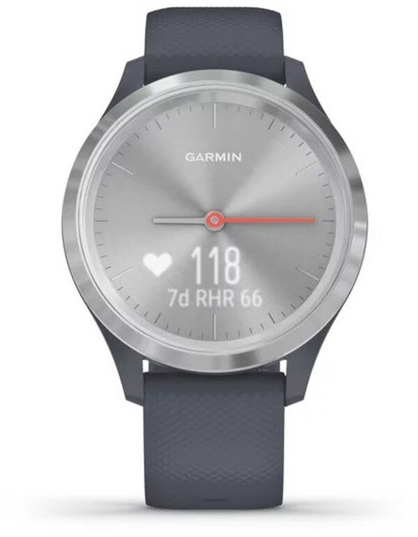 vivomove 3S Activity Tracker granitblau/silber