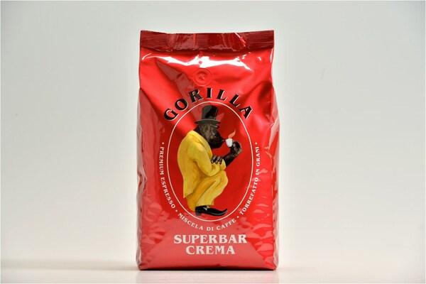 Gorilla Espresso Super Bar Crema (1000g) Kaffeebohnen rot
