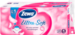 Zewa Toilettenpapier Ultra Soft 4-lagig (20 x 150 Blatt)