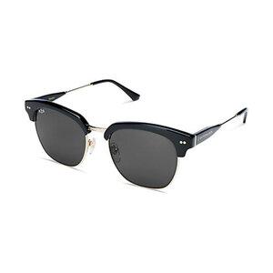 Kapten & Son Sonnenbrille Havana Gloss All Black Glass KS06-BKG-BKG