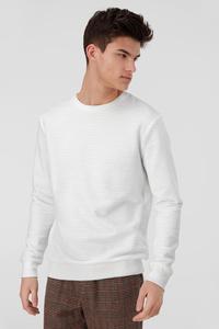 C&A Sweatshirt, Weiß, Größe: XXL