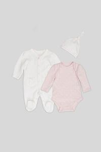 C&A Geschenkset-Bio-Baumwolle-3 teilig, Weiß, Größe: 68