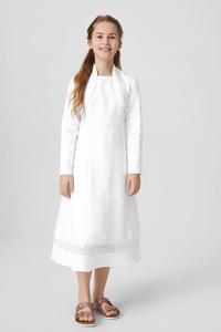 C&A Kommunion-Kleid mit Bolero, Weiß, Größe: 146/152