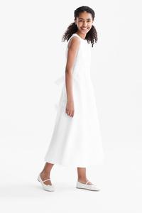 C&A Set-Kommunion-Kleid und Bolero-schmal, Weiß, Größe: 146/152