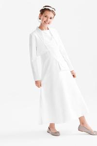 Set - Kommunion-Kleid und Bolero - 2 teilig