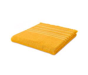 Fransen-Badetuch, gelb