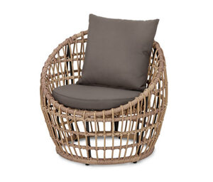 Lounge-Chair aus Polyrattan
