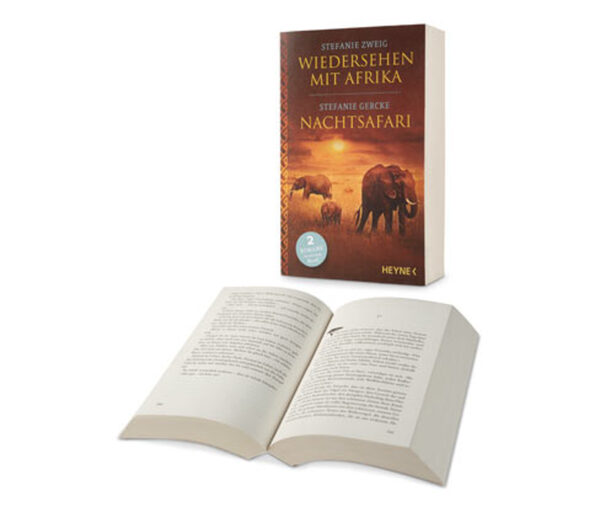 Doppelroman »Wiedersehen mit Afrika« und »Nachtsafari«