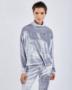 Champion Velvet Funnel - Damen Sweatshirts