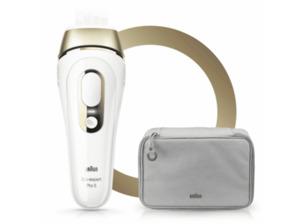 BRAUN Silk·Expert Pro 5 PL5014 IPL Haarentfernungsgerät in Weiß/Gold
