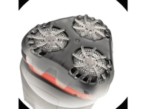 REMINGTON R4000 R4 Style - Rasierer  in Silber/Rot