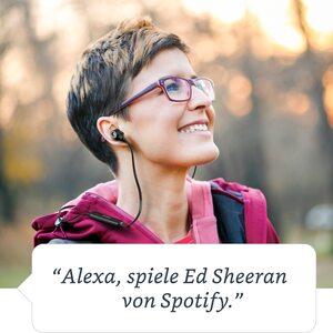 MEDION LIFE® S62024 Alexa Bluetooth® In-Ear-Kopfhörer, steuerbar mit der Stimme, Freisprechfunktion, 4 Std. Musikspielzeit (B-Ware)