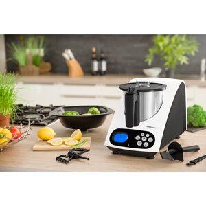 MEDION Küchenmaschine mit Kochfunktion MD 16361, 11 Betriebsstufen, bis zu 1000 Watt Leistung, automatische Abschaltung (B-Ware)