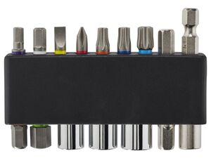 CRIVIT® Sechskantschlüssel-Set/ 12-in-1-Multitool, geeignet für Fahrrad, Roller oder Inlineskates