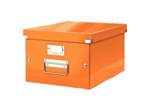 LEITZ 6044-00-44 Qualitäts-Ordner Retro chic schmal Aufbewahrungsbox