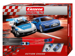 CARRERA (TOYS) Action Chase Rennbahn