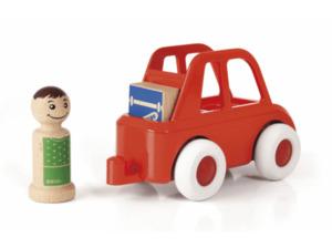 BRIO Rotes Stadtauto Mehrfarbig, Mehrfarbig