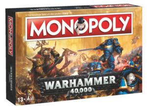 WINNING MOVES Monopoly - Warhammer 40k Brettspiel, Mehrfarbig