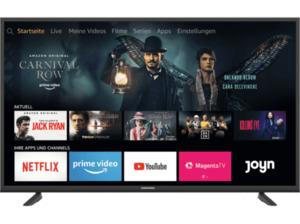 GRUNDIG 49 GUT 7060 FIRE TV EDITION LED TV (Flat, 49 Zoll/123 cm, UHD 4K, SMART TV, Fire TV Experience)