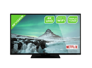 OK. ODL 49650UV-TIB UHD LED TV (Flat, 49 Zoll/124 cm, DCI 4K, SMART TV, Linux)