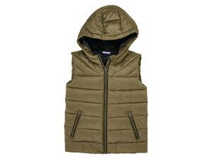 PEPPERTS® Lightweightweste Jungen, mit Kapuze, Taschen, wasserabweisend, extradünn, wärmend