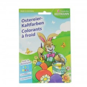 5er Ostereier-Kaltfarben