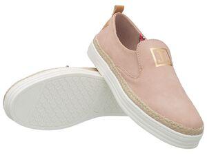 JETTE Damen Sneaker Slip-On, rosa