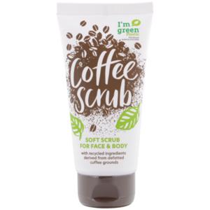 Biologisches Kaffeepeeling